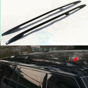 Black Roof Rack Rail Bars Luggage Carrier For Range Rover Full Size 13-16se258k