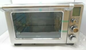 Oster Digital Stainless Steel Countertop Turbo Convection Oven TSSTTVDFL1GP Used
