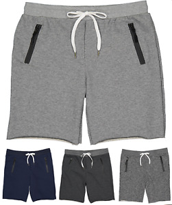 Men's Sport Shorts Gym Shorts Fitness Workout Sweat Pants Joggers MADE IN USA $16.99