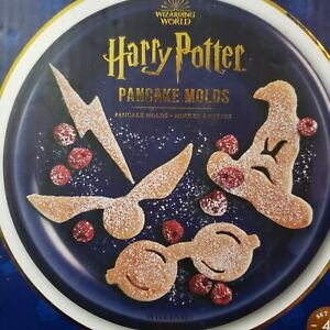 NEW Williams Sonoma Harry Potter Silicone Pancake Molds