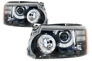 LED upgrade Headlights for Range Rover Sport L320 (2009-2013) Facelift Design
