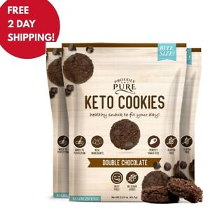 (NEW)Proudly Pure Mini Bite Size On the Go Cookie Double Chocolate Chip - 3 Pack