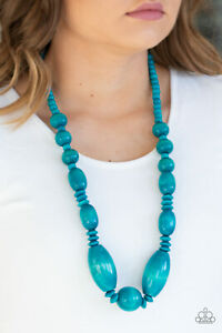 Summer Breezin Blue Necklace By: Paparazzi