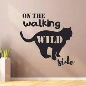 Wild Side Hunting Hunter Quote Wall Sticker Vinyl Art Decals Decor Home Room