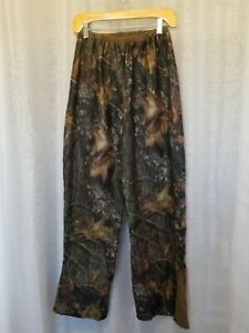 Stearns Mad Dog Gear Sz M Camo Mesh Lined Silent Hunting Pants EUC