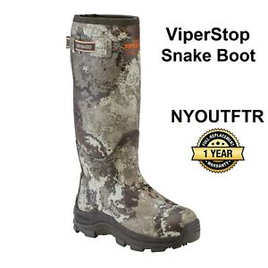 Dryshod ViperStop Snake Hunting Boot VEIL Camo With Gusset Size 12  VPS-MH-CM