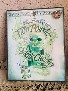 New Harry Potter When Traveling by Floo Powder 10x9 Framed Print Movie Magic