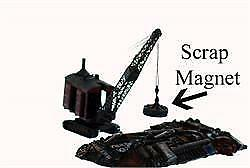 Crane MAGNET Scrap Metal Magnet comes Painted for you HO Scale 1 87 $9.99