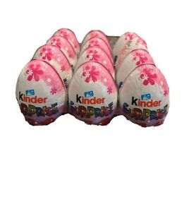 8 X Kinder chocolate eggs classic with surprise toy inside