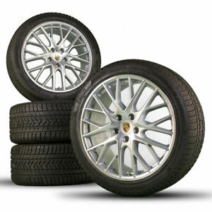 Original Porsche 21 inch 971 Panamera S Sport Design winter wheels winter tires
