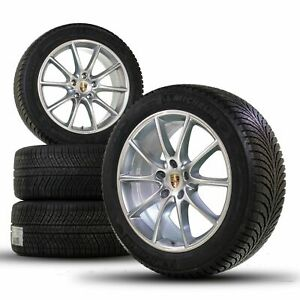 Original Porsche 20 inch Cayenne Design E3 9Y0 winter wheels winter tires NEW