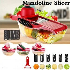 Manual Vegetable Slicers Potato Fruit Cutter Stainless Steel Mandoline Kitchen