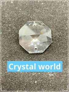 46 x 24MM Clear Asfour Crystal Shabby Chic Beads 1080 Octagon 2 Hole Chandelier