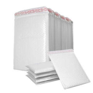 200PCs Poly Mailer Bubble Mailers 4 Layers Padded Envelopes Self Sealing $10.99