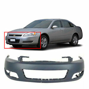 New Front Bumper Cover for Chevrolet Impala 2006 2016 GM1000764 $82.12