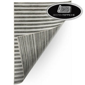 Sisal Rug #x27;Double#x27; Double Sided Grey Black Teppichflachweb Despicable Me to