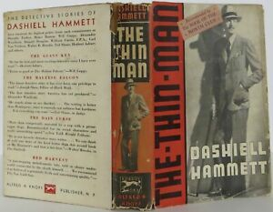Dashiell Hammett  The Thin Man Signed 1st Edition 1934 #2004104