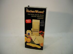 VTG Kitchen Wizard Slicer Dicer Grater Shredder Cooking