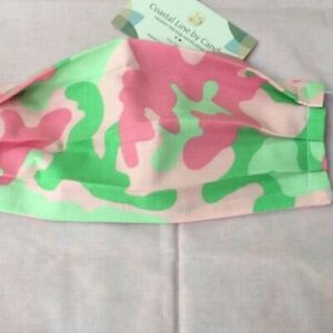 Pink Camouflage Washable Cotton Face Mask