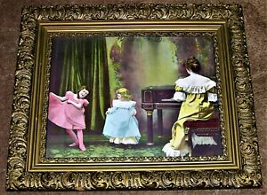 Antique Framed Joseph Hoover and Sons Chromolithograph