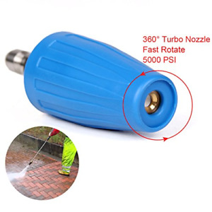 PENSON & CO. 3.0 GPM Turbo Rotary Rotating Nozzle for Pressure Washer 14