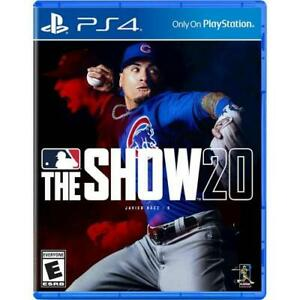 MLB The Show 20 for PS4 PS4 exclusive ESRB Rated E Everyone