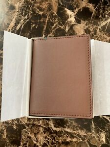 NEW Rolex Card Wallet Cafe Leather $149.00