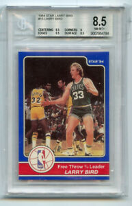 Larry Bird 1984 Star #15 Larry Bird BGS 8.5 ABC1635