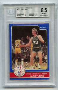 Larry Bird 1984 Star #15 Larry Bird BGS 8.5 ABC1637