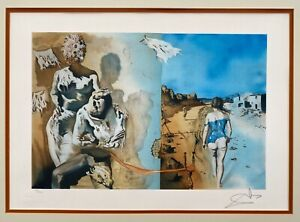 Salvador Dali Dreams Lithograph Signed LE 128 300 Framed $595.00