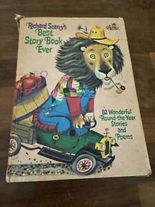 Vintage 1968 Richard Scarry's Best Story Book Ever LARGE 82 Stories HB Free Ship