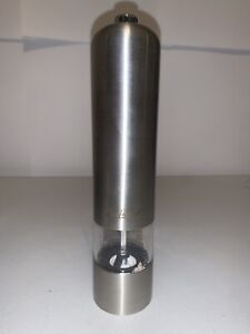 1- Electric Automatic Salt and Pepper Grinder Shaker Spice Mill Battery Operated