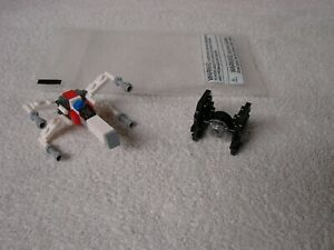 Lego Star Wars X Wing amp; TIE Fighter 2014 Toys R Us Promo Event Mini Build Kits