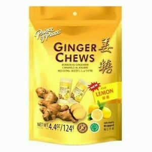 Prince of Peace Ginger Chews with Lemon 4 oz FREE 2 3 DAYS SHIPPING