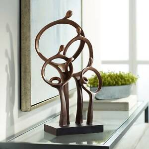 Abstract Family 19 1 4quot; High Bronze Sculpture $79.95