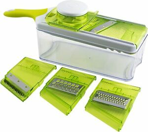 Tiabo Mandoline Slicer Set Slice, Cut, Grate, Julienne 4 in 1