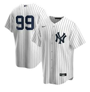 NEW New York Yankees Judge #99 Men#x27;s Pinstripe Jersey Men's L no name