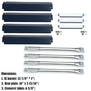 Replacement Charbroil Gas Grill Burners,Heat Plates and Crossover Tubes …