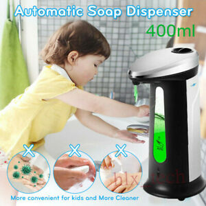 Touchless Automatic Induction Hand Wash Soap Dispenser Liquid Lotion Hands-free