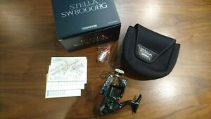 Shimano 13 Stella SW8000HG spinning reel body onlyLimited Good condition Gen
