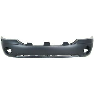 Primed Front Bumper Cover For 2002 2009 GMC Envoy SLE SLT 88937036 GM1000641 $133.13