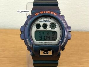 Used CASIO G-SHOCK DW-6900FL-6MJR METALLIC-G FRF design purple violet Majora