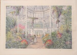 Arthur Byrne Colored Lithograph magnificent print pencil signed numbered titled $45.00
