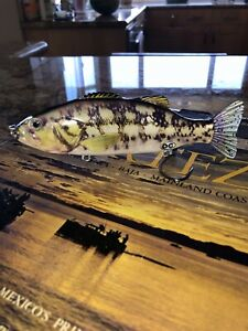 NEW 6 3 4 Inch Hard Jointed Saltwater Calico Bass Swim bait HOT
