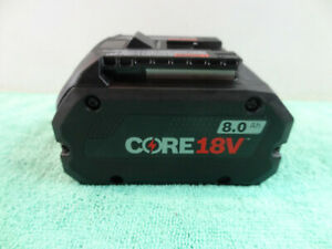 Bosch GBA18V80 Core 18V 8.0 Ah Lithium Ion Battery Pack ~No Package~ New