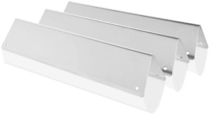3Pcs Weber Spirit E 210 Grill Parts Stainless Steel Flavorizer Bars
