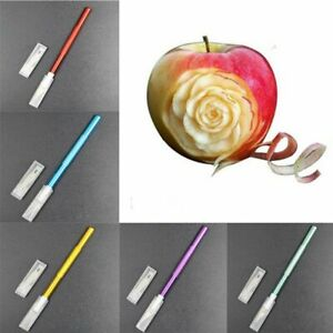 Engraving Cutter with 6pcs Blade Pastry Tools Metal Scalpel Non-slip Knife