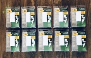 (10 PCS) LUTRON MAESTRO C-L DIGITAL DIMMER MACL-153MLH-WH BRAND NEW, SEALED