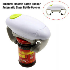 Multifunctional Electric Bottle Opener Automatic Glass Bottle Can Jar Tin Opener