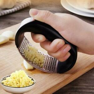 Kitchen Garlic Press Manual Grinder Grater Ginger Press Garlic Crusher Tool
